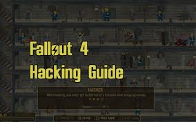 Fallout 4 Skills Chart Fallout 4 Hacking Guide Gnarly Guides
