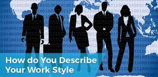 Describe Your How Do You Describe Your Work Style