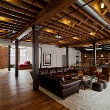 exposed ceiling lighting basement industrial black. 20 stunning basement ceiling ideas are completely overrated exposed lighting industrial black s