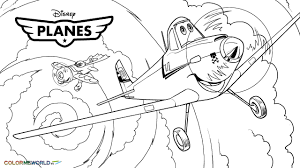 Small Picture Planes 15 Animation Movies Printable coloring pages
