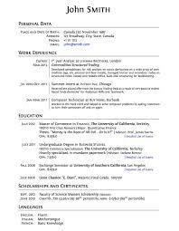 Graduate School Resume Templates Latex Templates Curricula Vitaersums  Printable