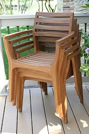 outdoor stack chairs. Outdoor Interiors Stacking Chairs, Brown, Set Of 4 Stack Chairs A