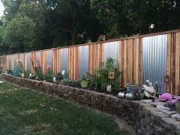 DIY Backyard Fancy Fence Ideas  Garden