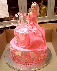 2 Tier Wicked Chocolate Cake Iced In Pink Butter Icing Decorated