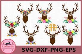 ⚡ we've got logos, silhouettes, icons, backgrounds, patterns, mockups and more! Fall Svg Deer Antler Svg Autumn Svg Files Antler Flower 293517 Cut Files Design Bundles