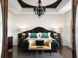 bedroom chandeliers black
