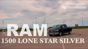 2017 Ram 1500 Lone Star Silver - Family Review