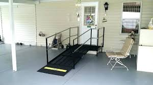 how to build a ramp over stairs how to build a handicap ramp over steps bob