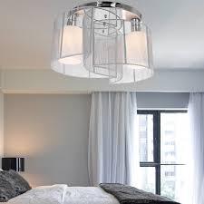 image of glass semi flush mount ceiling lights