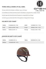 Equestrian Helmet Size Chart One K Unisex Defender Suede Protective Riding Helmet