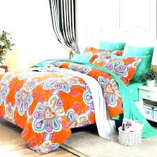 duvet comforter sets king quilt cover sizes orange and blue bedding best images on turquoise