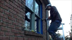 Best Caulk For Trim The Best Way To Caulk A Window Or Door In A Brick Opening Youtube