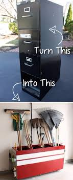 diy projects your garage needs old file cabinet into a garage storage do it