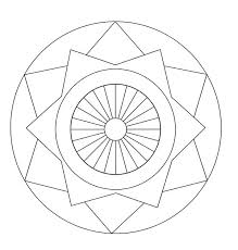 Mandala Design Coloring Pages Mandala Coloring Pages For Kids Free