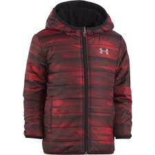 under armour quilted jacket. boy\u0027s red speedlines reversible puffer jacket under armour quilted