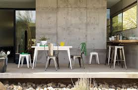 design within reach outdoor furniture. Tolix® Marais Four-Seater Dining Table Design Within Reach Outdoor Furniture