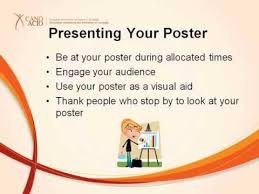 How To Make Poster Presentation In Chart How To Prepare For A Poster Presentation