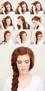 beautiful braided hairstyle tutorial for long thick hair