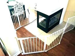 fireplace baby gate wood stove child barrier for gates home depot summer auto close