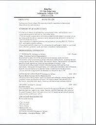 Objective For Resume For Bank Job Banking Resume Sample For Fresh