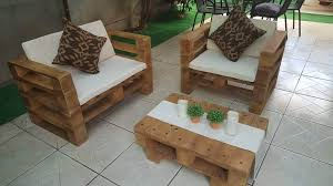wood pallet patio furniture. Upcycled Wooden Pallet Patio Set Wood Furniture D