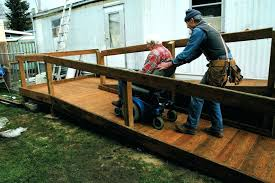 building wheel chair ramps ramps for the handicapped diy wheelchair ramps