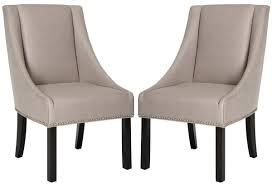 silver brushed metal chair woven. MORRIS 20\u0027\u0027H SLOPING ARM DINING CHAIR (SET OF 2) - SILVER NAIL HEADS MCR4708B-SET2 CHAIRS Silver Brushed Metal Chair Woven