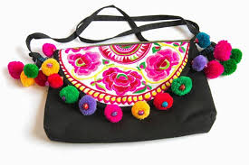 handcrafted and embroidered bags
