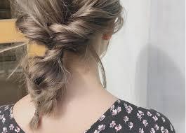髪型はまとめ髪がとにかく楽すぎインスタで人気のアレンジをチェック