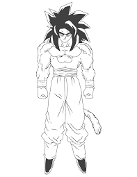 Dragon Ball Z Bardock Cartoon Coloring Page Free Printable