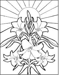 Preschool Religious Easter Coloring Pages Printable Color Bros
