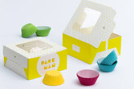 Custom Design Cupcake Boxes Four Cupcake Box Mockup 04 Ideal Showing Designs Cm Box