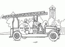 Free Fire Truck Coloring Pages Printable Q Trendy Fire Truck