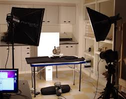 a good lighting setup for shooting photos