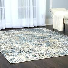 blue grey beige area rug heritage cotton