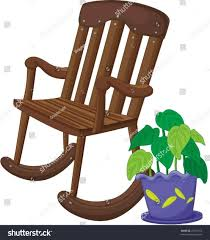 rocking chair clipart. Appealing The Collection Of Chair Clipart Vector Teddy Bear Picture For Rocking Silhouette Trend And
