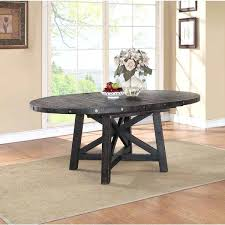 round extension table industrial solid wood slides plans