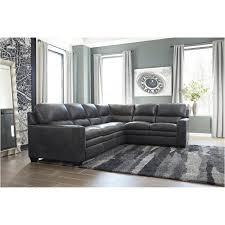 1570249 ashley furniture gleason charcoal living room sofa