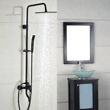 wall mount bathtub faucet with hand shower image of wall mount bathtub faucet with handheld shower