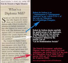 the vae a legitimate way to get a degree is not a diploma mill list of faculty members