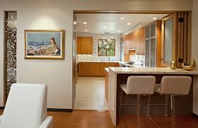 montecito ss remodel bifold door open contemporary kitchen