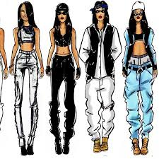 Designer clothes, shoes & bags for women   ssense. Aaliyah Style So Used To Want To Be Like And Dress Like Her Hip Hop Outfits Aaliyah Style Hip Hop Fashion