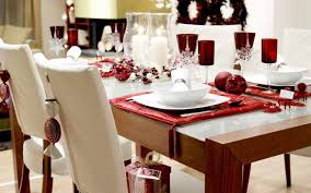 christmas table dressing ideas. Christmas-Table-Decoration-Ideas-With-Red-Cloth Christmas Table Dressing Ideas I