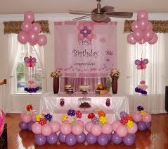 Congratulation Party Decorations Evergreen Stylish Party Decoration Idea For One Year Old Boy Or Girl