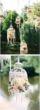 white bird cages flowers pearls so pretty for an outdoor wedding or bridal birdcage pendant light chandelier birdcage chandelier floor lamp birdcage