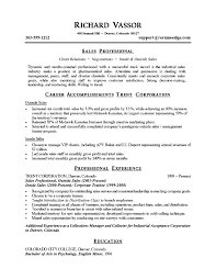 Resume And Cover Letter Summary Of Resume Sample Sample Resume