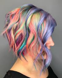 35 Of The Most Beautiful Short Hairstyles With Pastel Colors