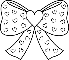 Small Picture Bow Tie Coloring Pages Throughout esonme