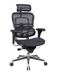 ergonomic office chairs. Eurotech ME7ERG Ergohuman Mesh Ergonomic Chair W/ Headrest Office Chairs