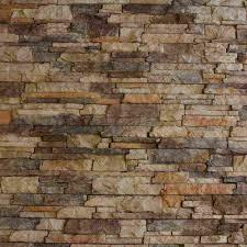 faux rock siding wall